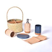 Amazon 4-teiliges Badaccessoires-Set Keramik