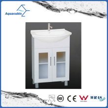 Vaia de banheiro tradicional de cozinhas brancas clássicas (ACF6096)
