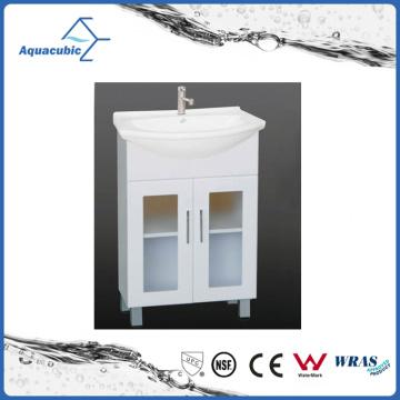 Vanité de salle de bain à cuire blanc classique (ACF6096)