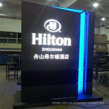 Display Lightbox publicitario con iluminación LED