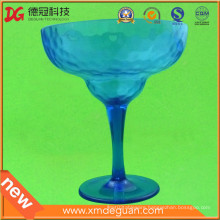 Customized Injection Plastic PC Giant Margarita Goblet