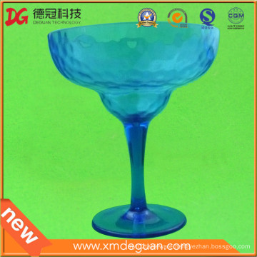 Customized Injection Plastic PC Giant Margarita Goblet