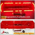 Red led warning flashing light bar emergency strobe lights for fire truck
