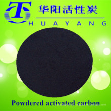 Carbón activado en carbón de 200 mallas para tratamiento de aguas residuales
