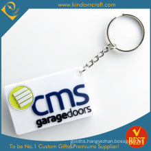 Wholesale Customized Brand Promotional Rubber PVC Key Chain From China in High Quality