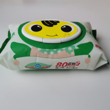 Pure Eco Friendly 80PCS Disposable Baby Wipes