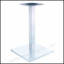 Restaurant Square Brush Stainless Steel Table Base (SP-STL259)