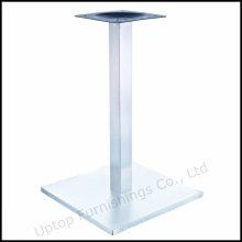 Base de mesa de aço inoxidável quadrada do restaurante Square (SP-STL259)