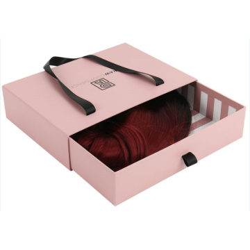 Drawer+Box+With+Ribbon+Handle+For+Hair+Extension