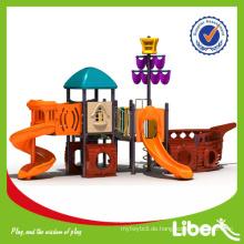 Piratenschiff Serie China Verified Hersteller Billig Outdoor Spielplatz / Amusement Park Ausrüstung / Dschungel Gym