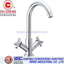 Double levers tall basin faucet 3306