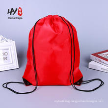 Pattern novelty non woven drawstring backpack