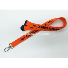 One Color Silk Screen lanyards / Promosi Lanyards
