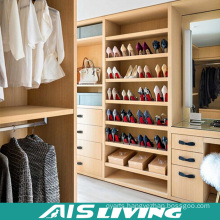 Luxury Bedroom Furniture High Quality Walk in Wardrobe Closet (AIS-W043)