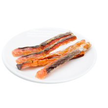 Best Selling Dog Treats Natural Salmon Fish Treats Private Label OEM Supplier Dog Food Dog Snack Wholesale