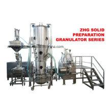 Maquinaria farmacêutica do granulador do secador do leito fluidizado (sistema granulando de secagem)