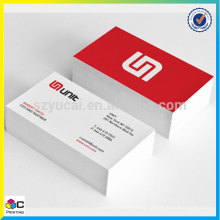 Best quality wholesale price pvc clear namecard