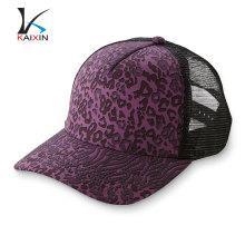 gorra de malla floral camionero sombrero de vaquero impreso a medida