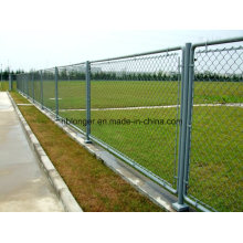 Hot-Dipped Galvanized Chain Link Wire Mesh Fence/Diamond Wire Mesh