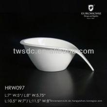 Keramiktasse und Darm für Hotel und restaurant