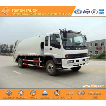 JAPAN technology 4x2 12m3 compressed rubbish truck