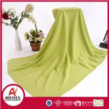 100% полиэстер дешевой цене продвижение сплошной цвет флис одеяло