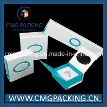 Sortes de boîte à bijoux avec insert et aimant