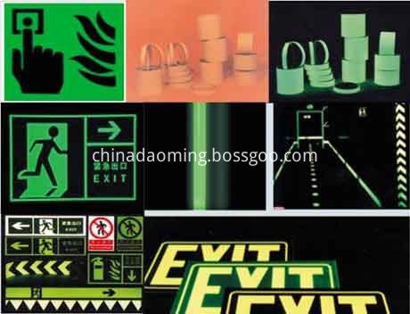 DM 9200 Luminescent vinyl sheeting