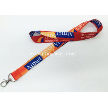 Colorful Custom Logo Printed Polyester Lanyard