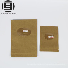 Bolsas de papel ziplock de calidad alimentaria hechas a medida