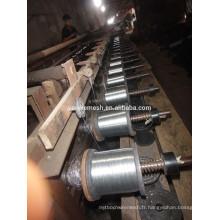 Fil de fer galvanisé trempé à chaud de 0,28 mm à 0,5 mm pour le marché japonais