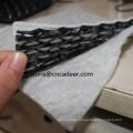 Rede de drenagem 3D composta para aterro e leito