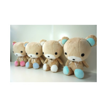 ICTI Audited Factory lindo oso azul de peluche de juguete