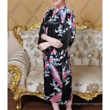 New Style Sexy Beautiful Japanese Silk Kimono Robe (FS5821)