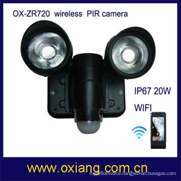 pir light and camera