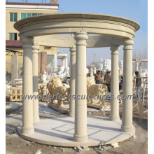 Garden Stone Marble Gazebo for Antique Outdoor Furniture (GR045)