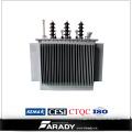 Transformador imergido óleo da distribuição de poder 1500kVA