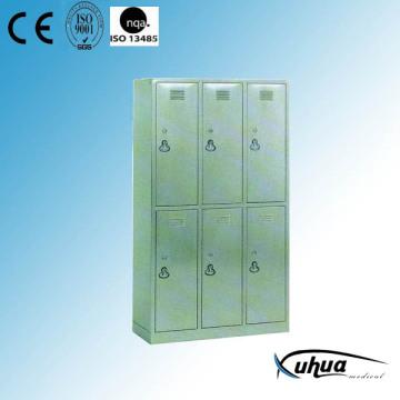 Armoire à vaisselle en acier inoxydable à six portes (U-15)