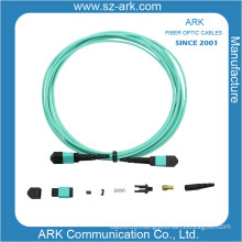 MPO/MTP Om3 Fiber Optic Cable Patchcord