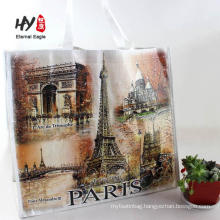 laminated cheapest drawstring pp shopping bag
