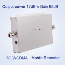 WCDMA Repetidor 3G 2100MHz Transmisor de banda y receptor Amplificador de señal móvil
