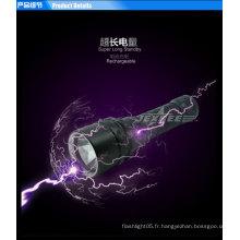 Plongée puissante lampe de poche led petite lampe portable