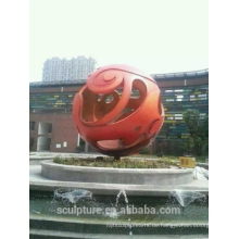 Shengfa Edelstahl Kugel Hohl Skulpturen von Verkauf Metall