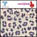 leopard design 56 cotton 44 rayon printed flannel fabric for ELAND