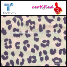 leopardo diseño 56 44 impreso rayón de algodón tela de la franela para ELAND