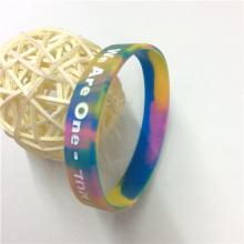 Высокое качество поощрения подарков Debossed пользовательских резиновые браслеты