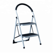3 steps slip-resistance stainless steel round household step ladder