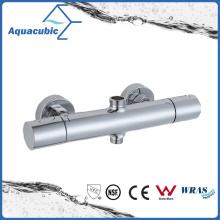 Robinet thermostatique pour douchette mixte à barre ronde chromée (AF4313-7)