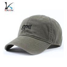 Vaquero de encargo promocional 6 paneles de ala corta bordado de alta calidad llanura diferentes tipos duros de béisbol de deportes sombrero y gorra
