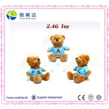 Wholesale Custom Musical Teddy Bear with Custom T-Shirt